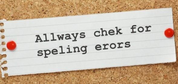 Speller and grammar checker